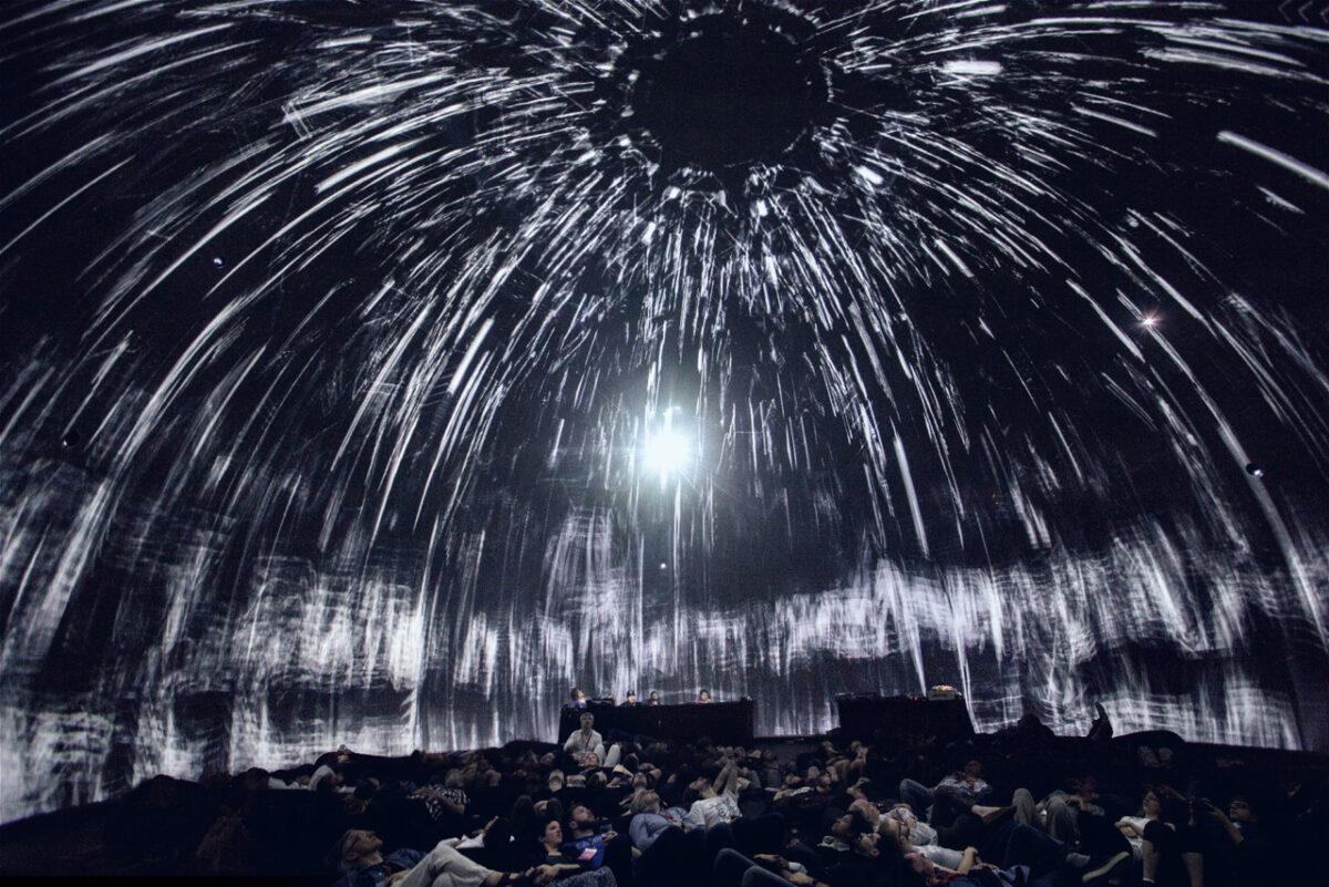 360 Grad Dome-Projektion
