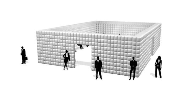 Aufblasbare Cube 14
