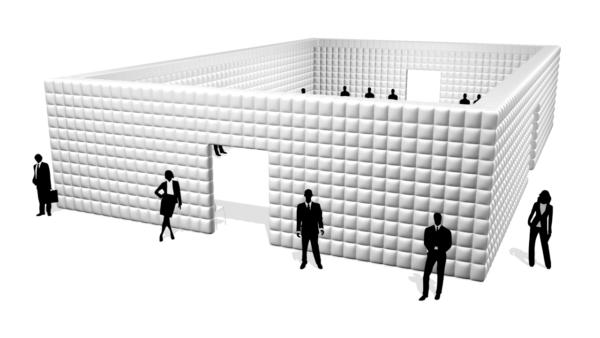 Aufblasbare Cube 18