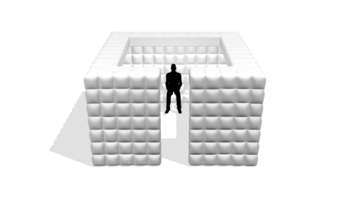 Aufblasbarer Raum Boxer