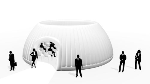 Aufblasbares Eventzelt Panorama Dome 10