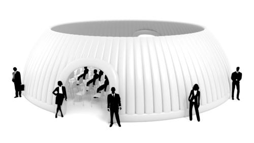 Aufblasbares Eventzelt Panorama Dome 14