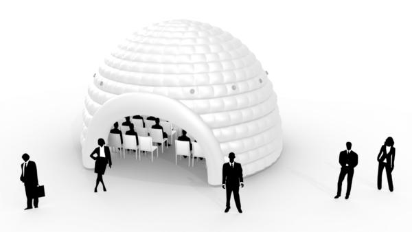 Aufblasbares Igluzelt Dome 8