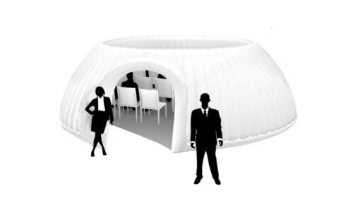 Panorama Dome 6m aufblasbares Zelt