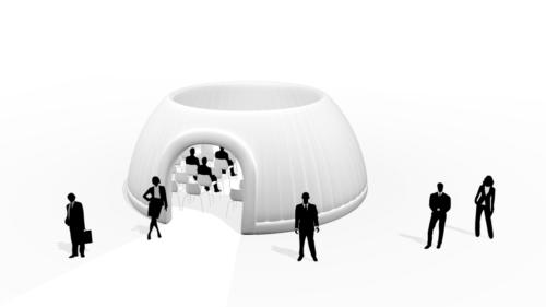 Panorama Dome 8m aufblasbares Zelt