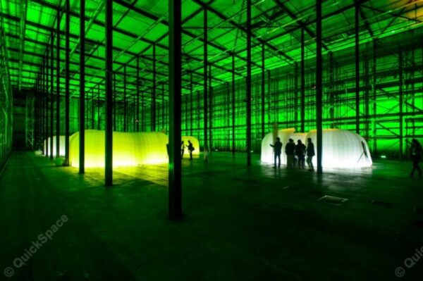 Aufblasbare Raume Veranstaltungshalle