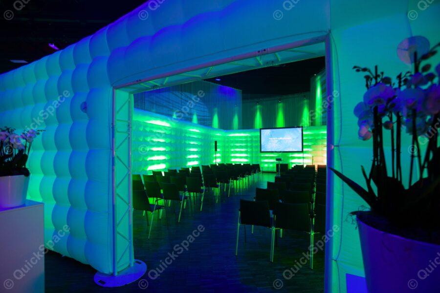 Aufblasbarer Workshop Raum